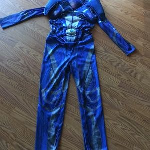 Halloween Blue Power Ranger Costume